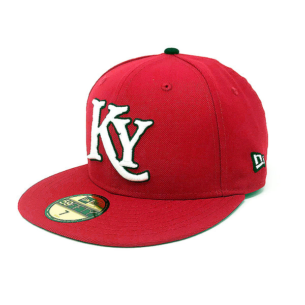 Red Fitted Hat