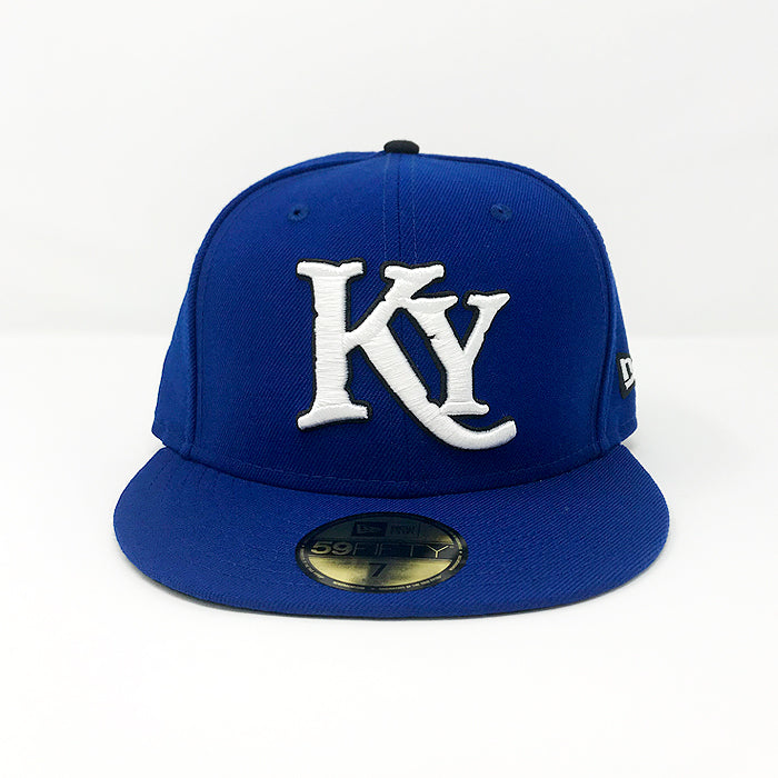Royal Blue Fitted Hat