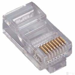 CAT6 RJ45 Connector Termination End