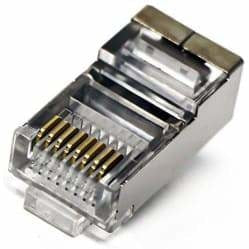 CAT6 RJ45 Shielded Connector Termination