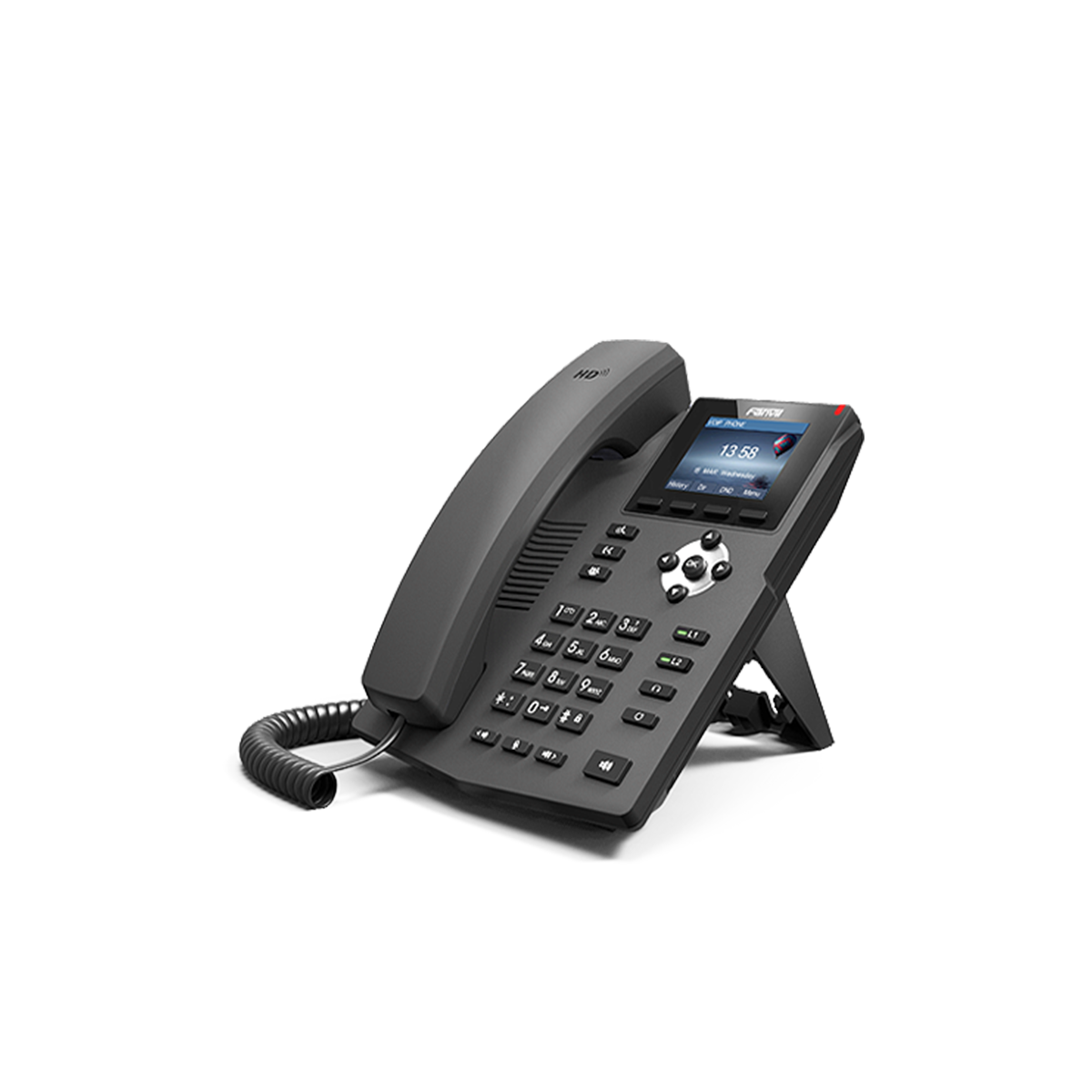 Fanvil 2SIP Gigabit Colour PoE VoIP Phone  │X3SG