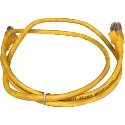 Switchcom Distribution 1m UTP Cat5e Yellow Flylead
