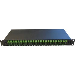 Switchcom Distribution 24-Way SC / APC Fibre Patch Panel