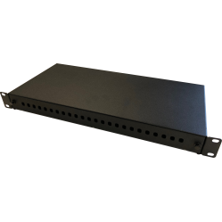 Switchcom Distribution 24-Way ST Fibre Patch Panel