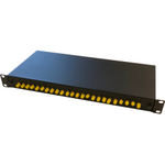 Switchcom Distribution 24-Way ST Populated Fibre Patch Panel