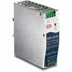 TRENDnet 120W Single Output Industrial DIN-Rail Power Supply | TI-S12048
