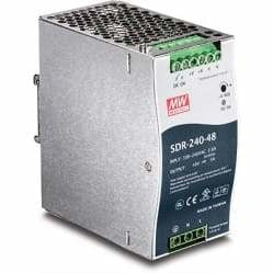 TRENDnet 240W Single Output Industrial DIN-Rail Power Supply | TI-S24048