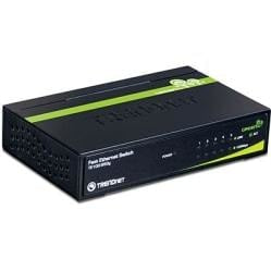 TRENDnet 5-Port 10/100Mbps GREENnet Switch | TE100-S50g