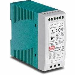 TRENDnet 60W Single Output Industrial DIN-Rail Power Supply | TI-M6024