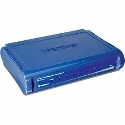 TRENDnet 8-Port 10/100 Mbps GREENnet Switch | TE100-S8