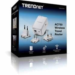 TRENDnet AC750 Wireless Travel Router | TEW-817DTR