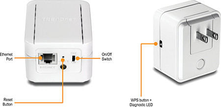 N300 H/power Wireless N Range Extender