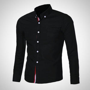 Slim Fit, Long Sleeve Men's Shirt
