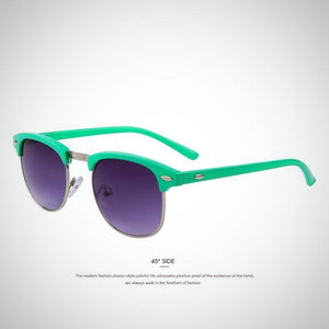 Women Retro Rivet Sunglasses
