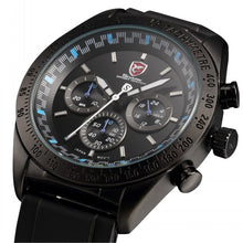 Sport Watch with Tachymeter, Stopwatch,Rubber Strap.