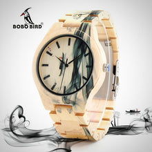 Smokey design, Maple Wood Watch for Men