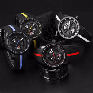 Thresher Shark, Sport Watch for Men with Silicone Band.