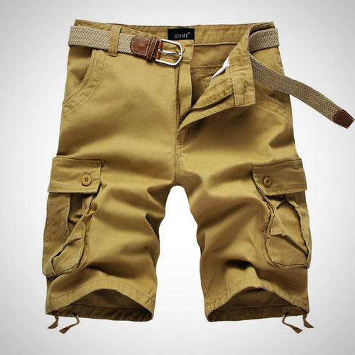 Men's Casual Cargo Shorts, Knee Length, Size 29-42