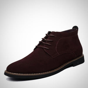 Suede Leather Ankle Boots for Men.