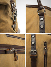 Vintage Canvas Shoulder Bag