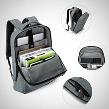 Water Resistant Laptop Backpack with Headphone Port
