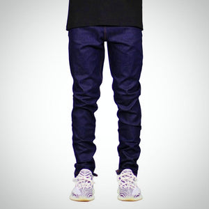 Men's Jeans, Dark Blue, Slim Fit