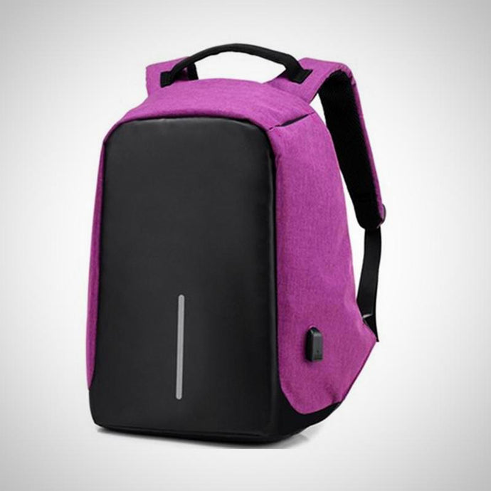 Anti-theft Backpack With USB Charge Port.