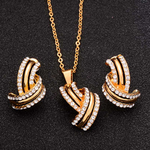 Jewelry Sets Necklace & Pendant & Stud Earrings
