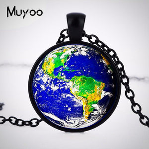Earth awareness Pendant Necklace