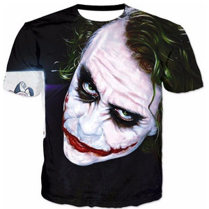 Jocker Printed Shirt, in Various Forms.