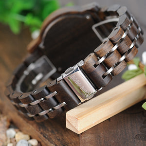 Bobo Bird Wooden Watches for man and Women