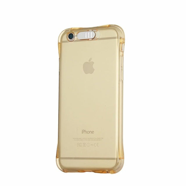 LED Flash TPU Case For iPhone