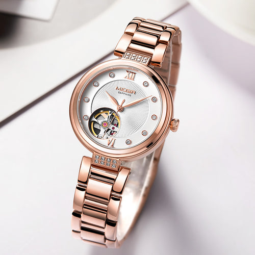 Luxury, Mechanical Wristwatch for Women.