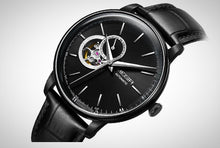 Men's luxurious automatic Skeleton Wristwatch.