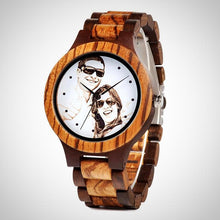 Custom made Wristwatch for men. Print your foto.