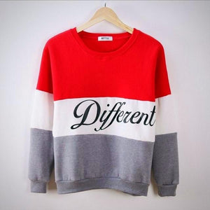 Cozy 3 collored Sweat Shirt
