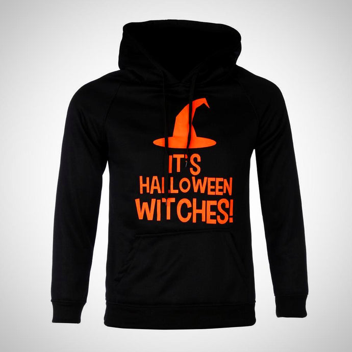 unisex Halloween Long Sleeve Hooded Sweatshirt