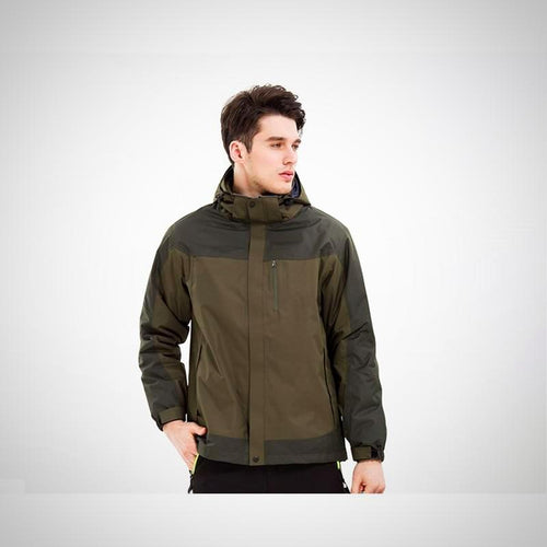 Mens 3in1 removable fleece Windbreaker