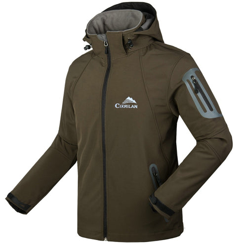 Men Windstoper Water Resistant Soft Shell Jacket