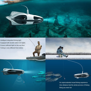 PowerVision PowerRay Underwater Drone and 4K Fishing Camera