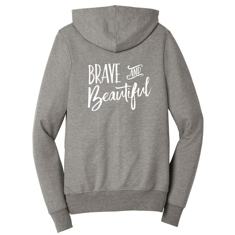 Brave & Beautiful Zip-Up