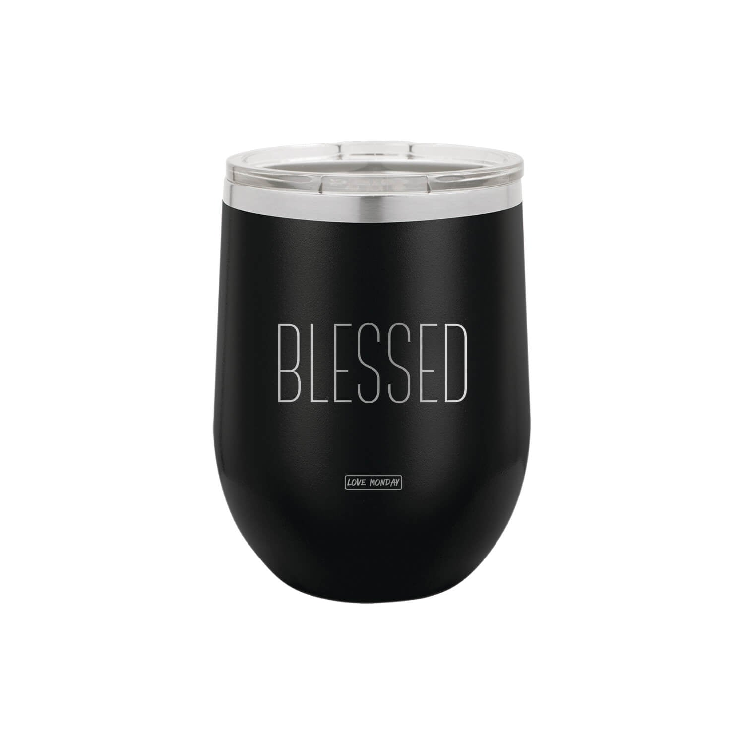 Blessed Stemless Wine Cup