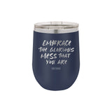 Glorious Mess Stemless Wine Cup