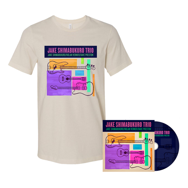 Jake Trio CD and T-shirt Bundle - PRE-ORDER