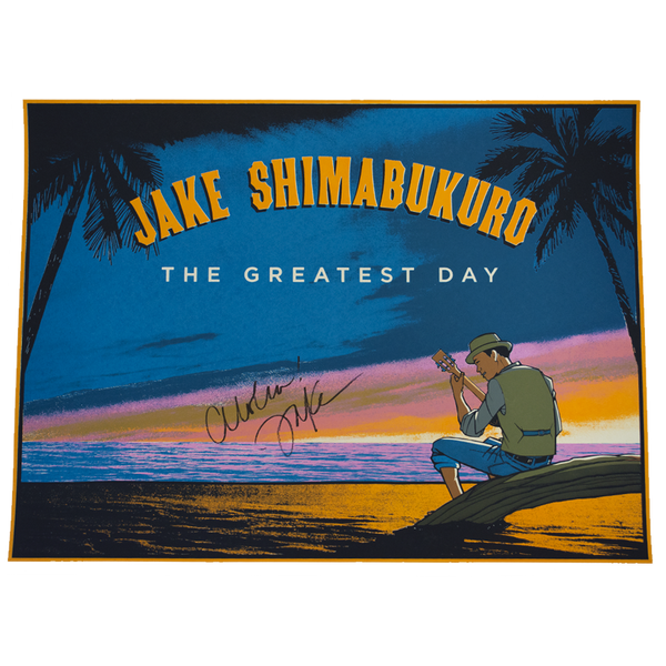 The Greatest Day (2018) Album Poster - Signed