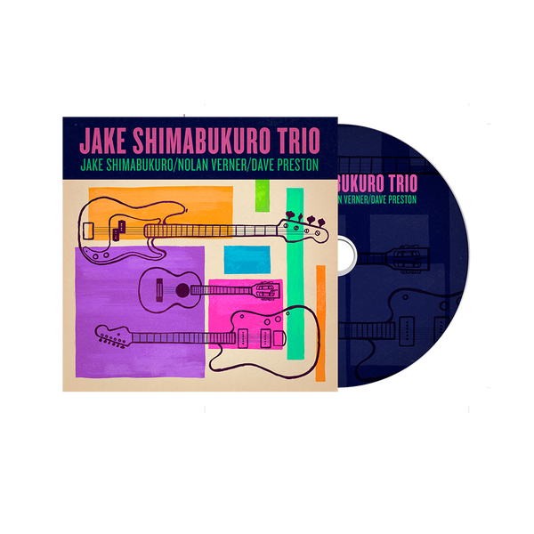 Jake Trio CD, Vinyl, T-shirt and Songbook Bundle