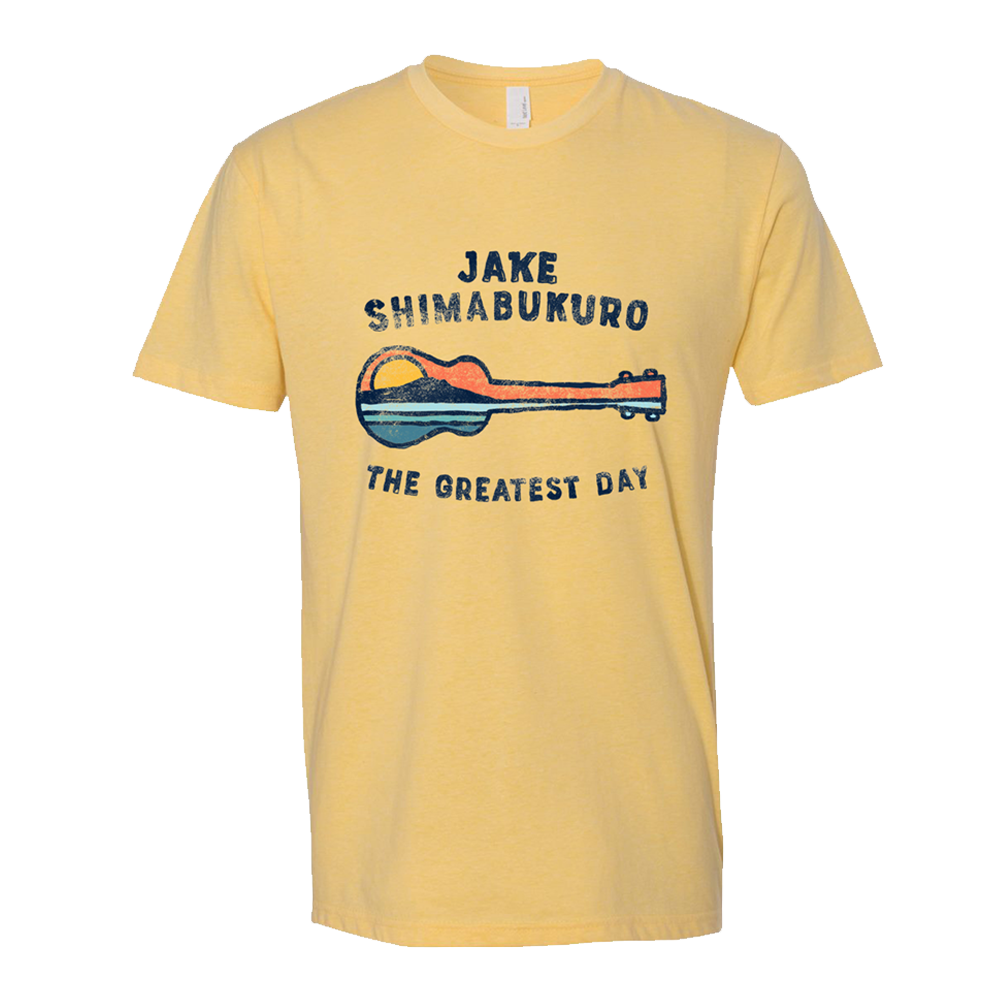 The Greatest Day T-shirt - Yellow
