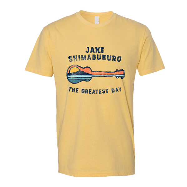 The Greatest Day T-Shirt - Yellow - SM only