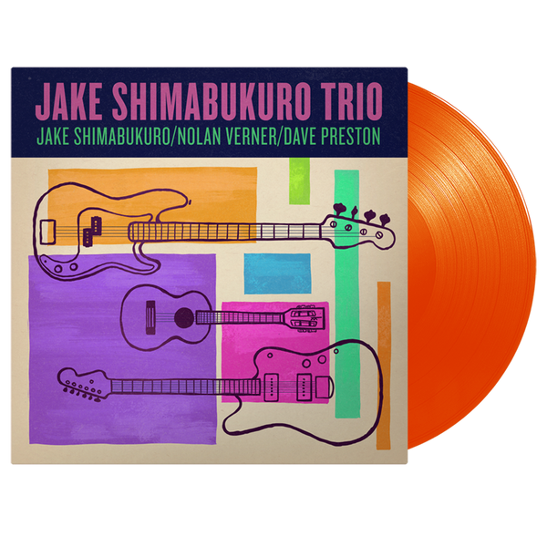 Jake Trio CD, Vinyl and T-shirt Bundle