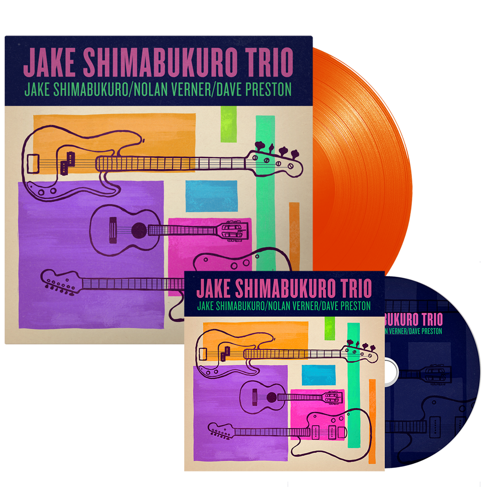 Jake Trio CD and Vinyl Bundle - PRE-ORDER
